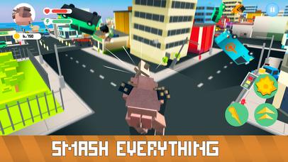 Blocky Monsters Smash Full screenshot 2