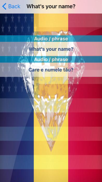 Romanian Phrases Diamond 4K Edition screenshot 3