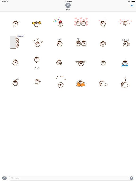 Animated Cute Acorn Stickers screenshot 3
