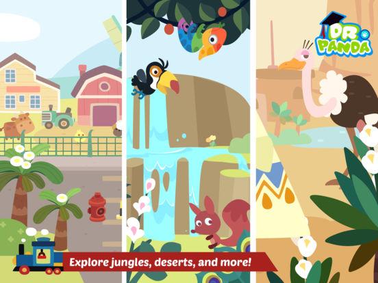 Dr. Panda Train screenshot #5