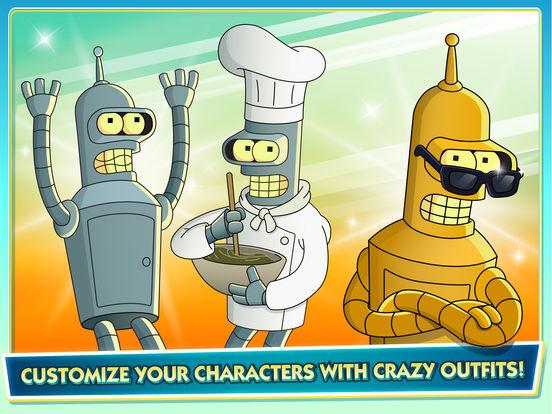 Futurama: Worlds of Tomorrow screenshot 7