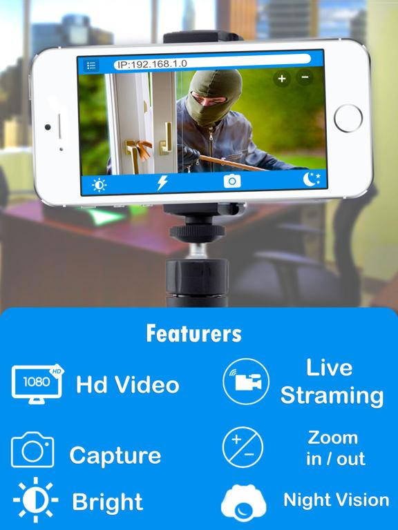 IP Webcam Home Security Surviliance Wifi Camera screenshot 6