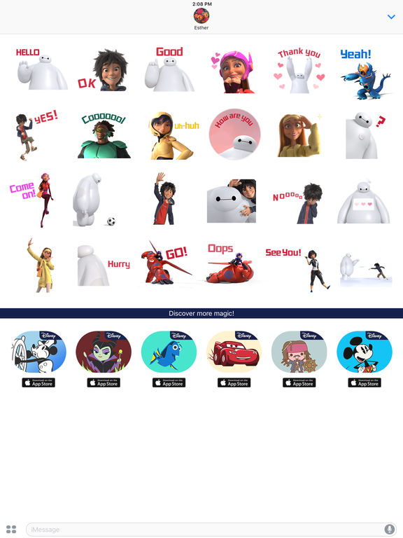 Disney Stickers: Big Hero 6 screenshot 10