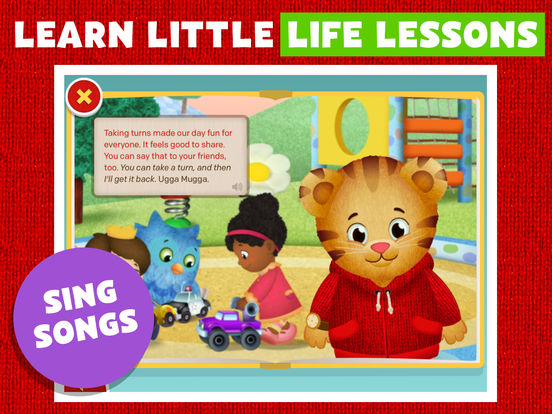 Daniel Tiger's Storybooks screenshot 10