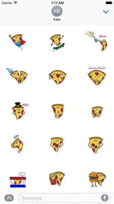 Pizzamoji - Life of Pizza Sticker screenshot 1