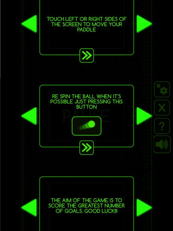 Neon Pong ® screenshot 7