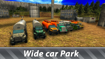 Oil Truck Offroad Driving Full screenshot 4