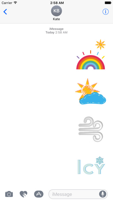 Paint Weather screenshot 1