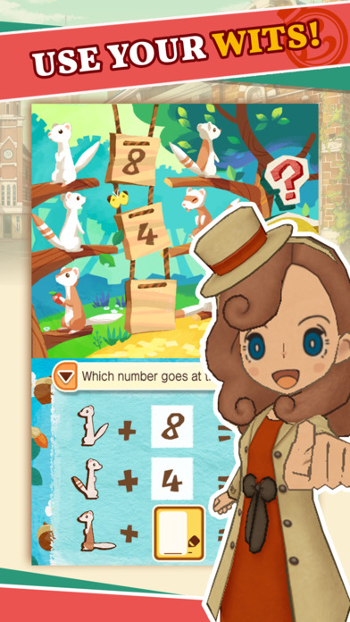 Layton's Mystery Journey screenshot #2