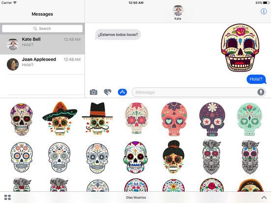 Dias de los Muertos - Colorful Sugar Skulls screenshot 4