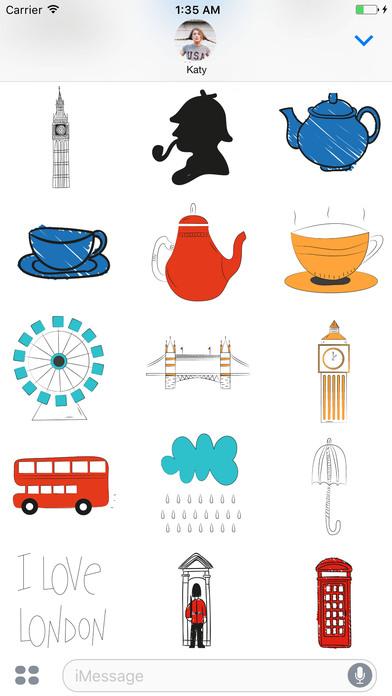 I love London Stickerpack screenshot 2