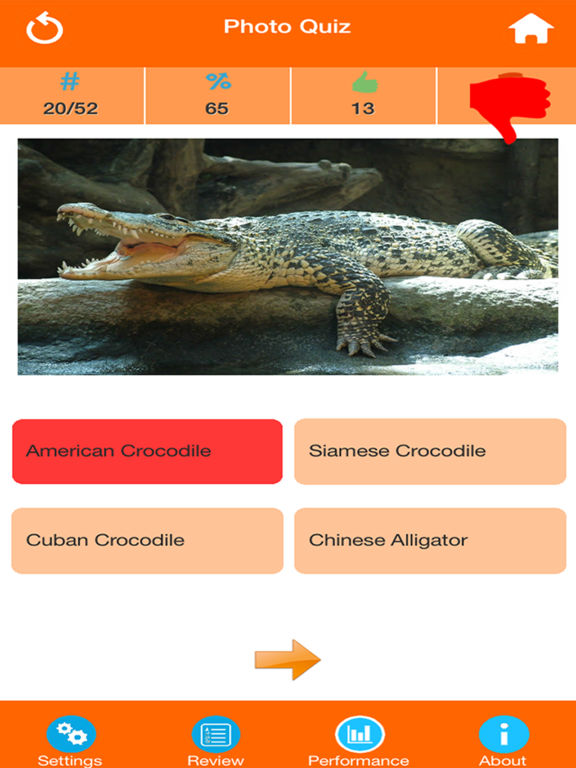 Animals : Reptiles Quiz screenshot 8