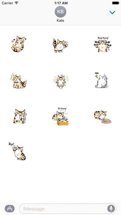 Maine Coon Cat - Mainemoji Emoji Sticker screenshot 3