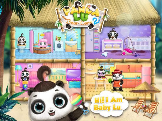 Panda Lu Baby Bear Care 2 - No Ads screenshot 6