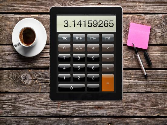 Calculator ® for iPad screenshot 2
