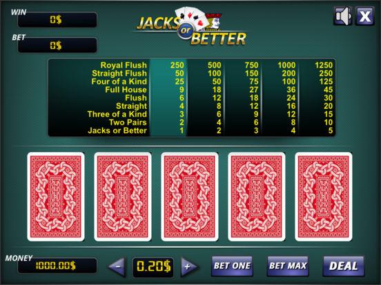 Jacks or Better ® screenshot 5