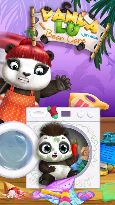 Panda Lu Baby Bear Care - No Ads screenshot 1