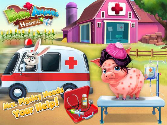 Farm Animals Hospital Doctor 3 - No Ads screenshot 8
