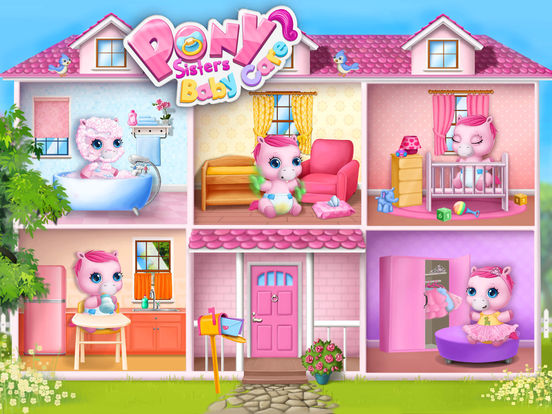 Pony Sisters Baby Horse Care - No Ads screenshot 7