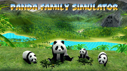 Panda Family Simulator Full screenshot 1