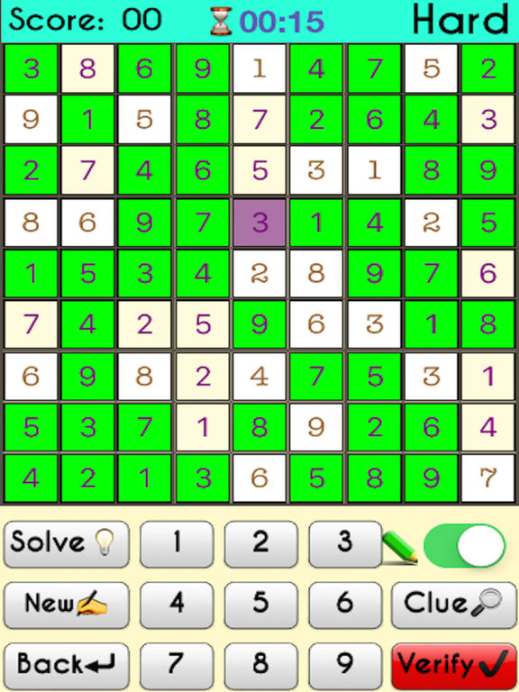 Complete Sudoku Puzzles 2- Full Featured Game screenshot 8