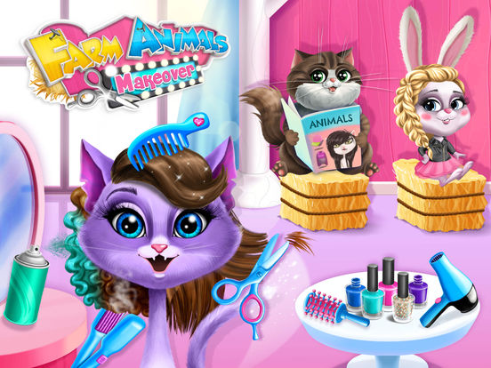 Farm Animals Makeover - No Ads screenshot 6