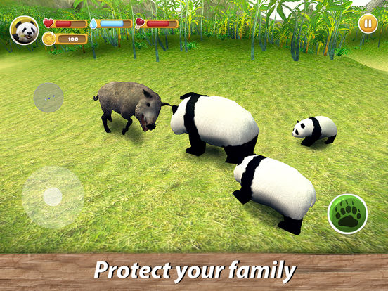 Panda Family Simulator Full screenshot 8