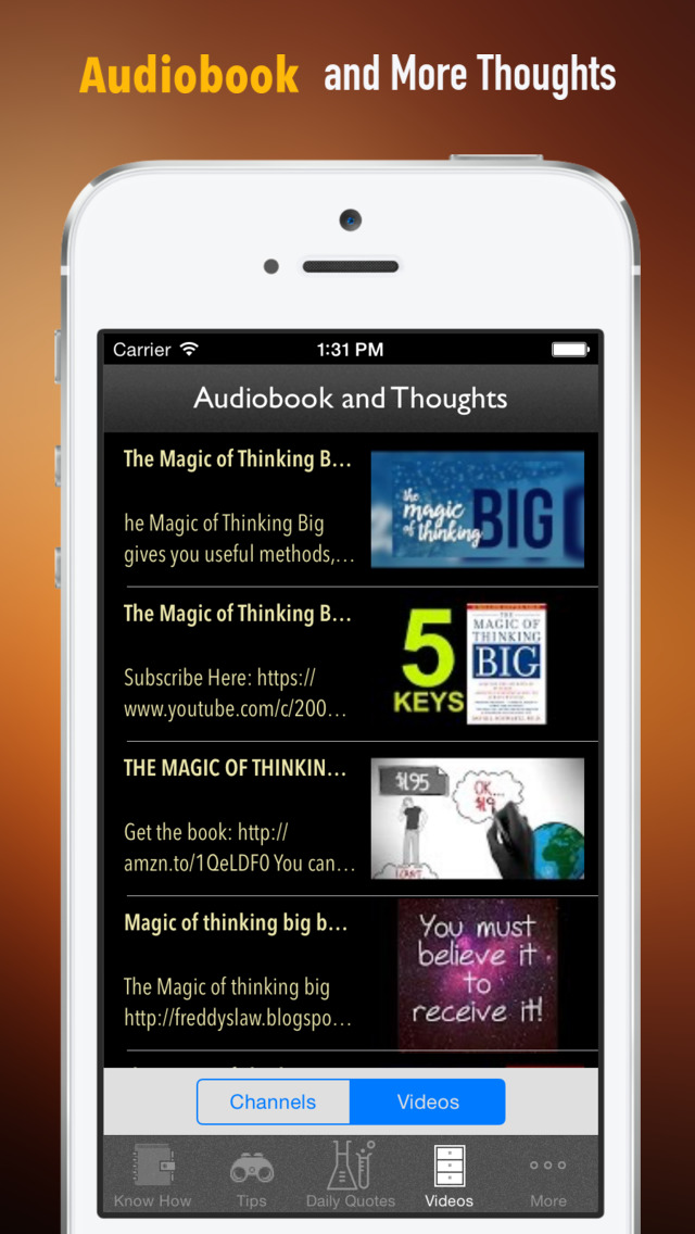 The Magic of Thinking Big: Practical Guide Cards with Key Insights and Daily Inspiration screenshot 2