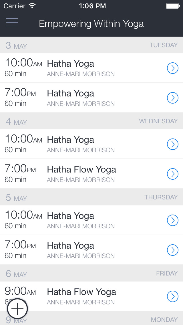 Empowering Within Yoga screenshot 1