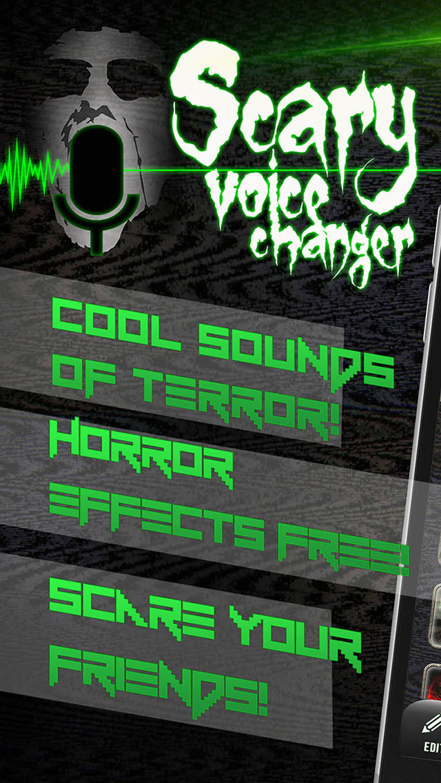 Scary Voice Changer with Horror Sound Modifier | Apps | 148Apps