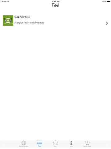 Stop Allergies! Allergien lindern mit Hypnose screenshot 7