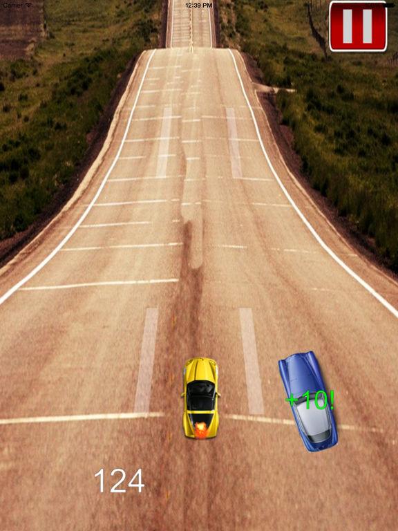 A Mad Dash Highway - Racing Hovercar Racing Game screenshot 10