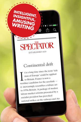 The Spectator Magazine - náhled