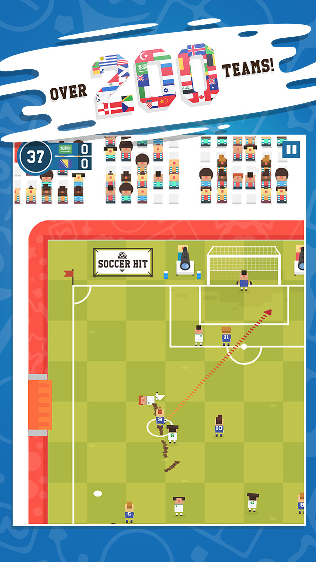 Soccer Hit - International Cup screenshot 2