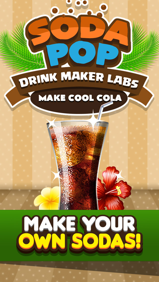 Soda Pop Drink Maker - Fizzy Slushy Salon For Kids screenshot 1
