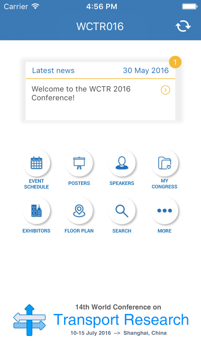 WCTR2016 screenshot 2