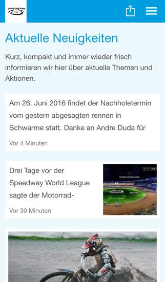 Speedway Racing Germany screenshot 1