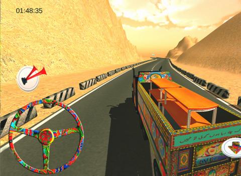 PK Cargo Truck Driving Simulator screenshot 7