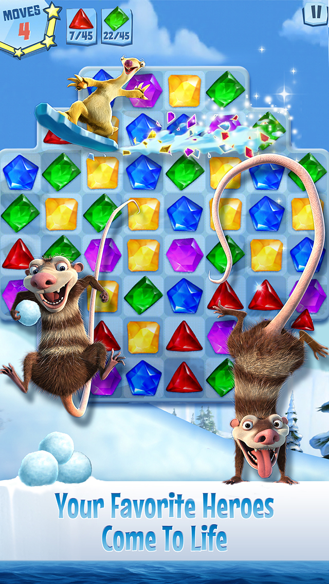 Ice Age: Arctic Blast screenshot 2