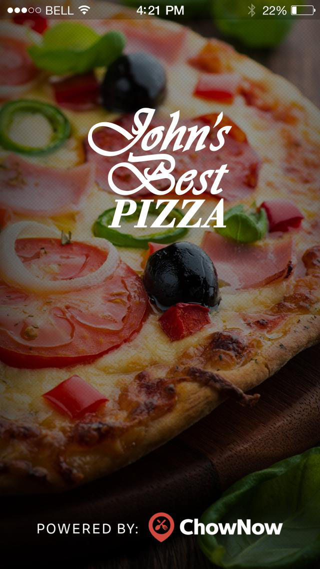John's Best Pizza screenshot 1