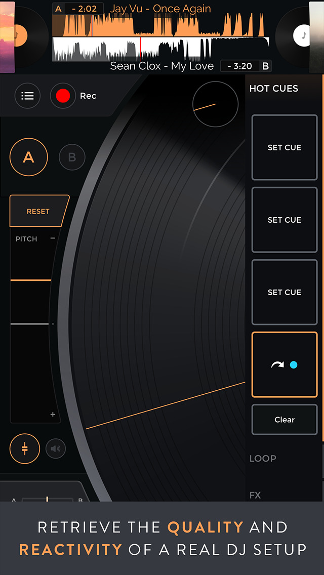 Mixfader dj app screenshot 2