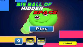 Big Ball Of Hidden Space - Mysterious Game Geometry screenshot 1