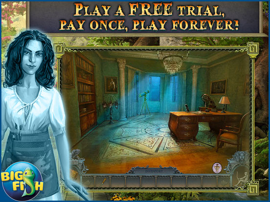 Secrets of the Dark: Mystery of the Ancestral Estate HD - A Mystery Hidden Object Game screenshot 1