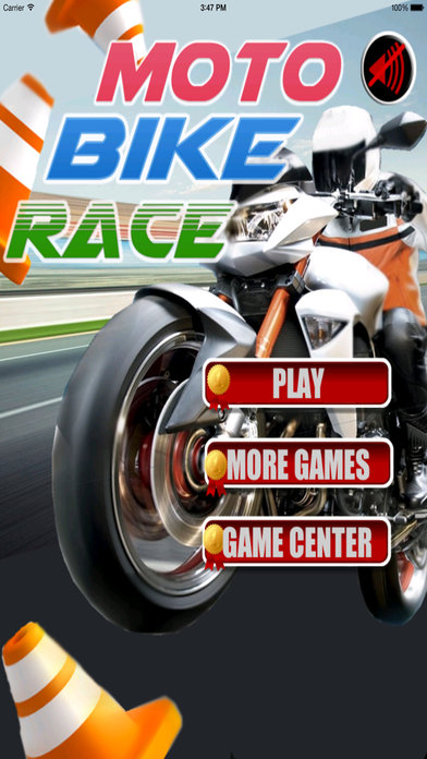 A Moto Bike Race PRO - Motorcycles Game screenshot 1