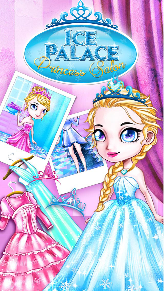 Ice Palace Princess Salon - Hair Care, Makeup & Dress Up screenshot 3