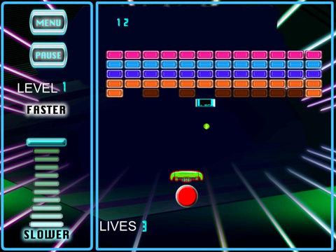 A Powerful Ball Against The Bricks - Galactic Bricks Breaking Game screenshot 10