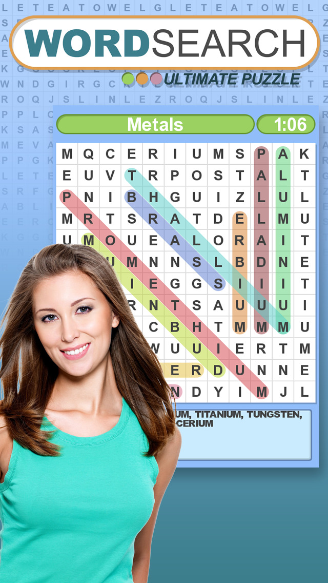 Word Search Ultimate Puzzle screenshot #4