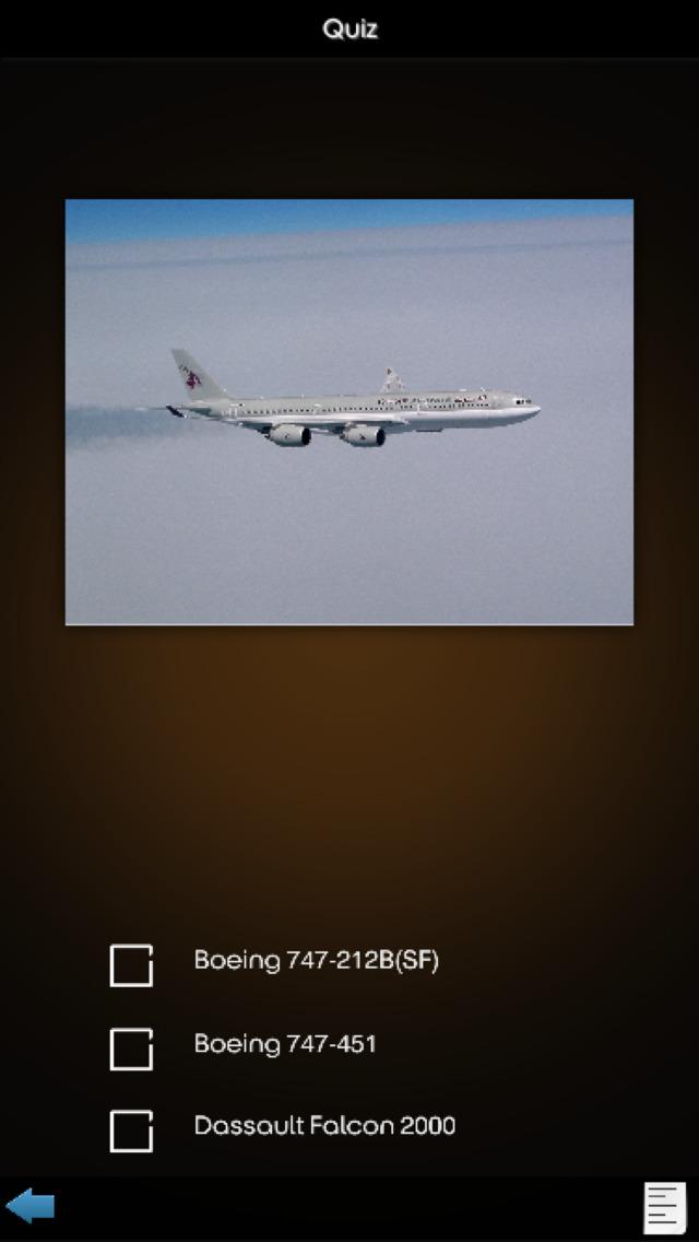 China Airplanes Database screenshot 5