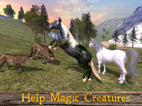Magical Horse: Animal Simulator 2017 Full screenshot 5