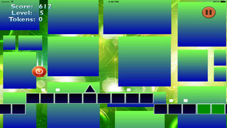 Neon Jump Geometry Pro - Temple Of Balls And Blocks In Space screenshot 4